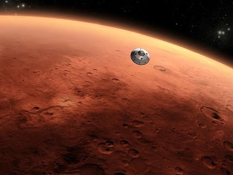 How a satellite reach Mars very interest