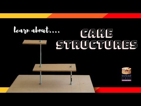Learn To Make Your Own Cake Structures!