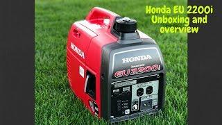 9. Honda EU2200i unboxing and overview.