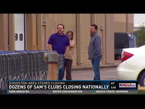 Dozens of Sam's Clubs closing nationally
