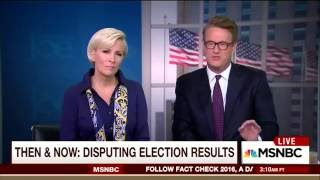 Scarborough Rips MSM Hypocritical 'Freak Out' Over Trump Refusing to Blindly Accept Election Result