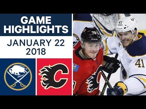 Video: NHL game in 4 minutes: Sabres vs. Flames