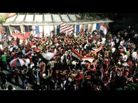 Barra del Caracas Fc Tifo (Instrumental e Hinchada) - Los Demonios Rojos - Caracas