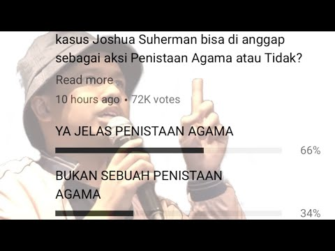 Download Video 66% JOSHUA SUHERMAN MENISTA AGAMA.. TAPI...  (and A A Little Message From Ustad Wijayanto)