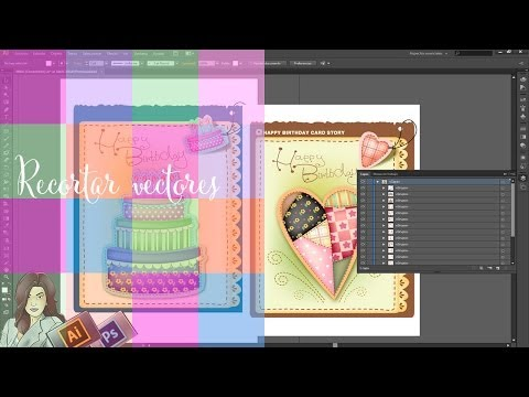 Tutorial illustrator CS6: Recortar vectores para trabajar en Photoshop