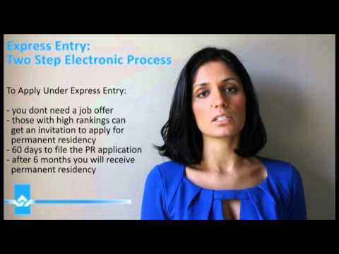 Express Entry Two Step Electronic Process Video