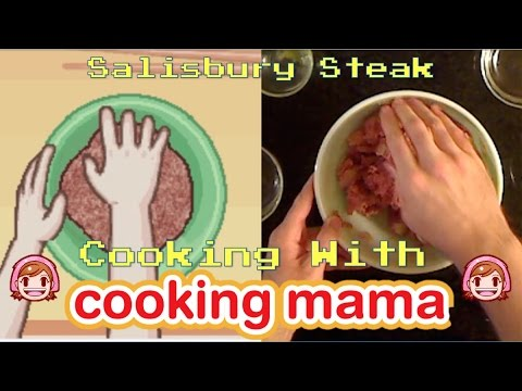 Salisbury Steak | Cooking With Cooking Mama!