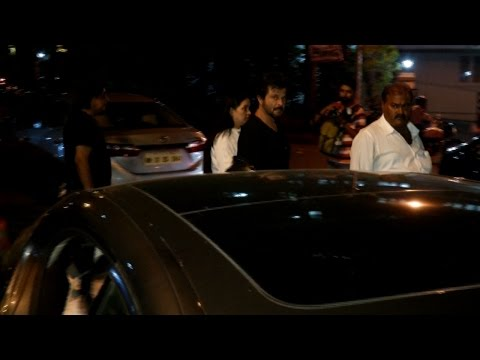Anil Kapoor Spotted At Law's Home