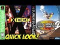 PSX Anniversary: 1 eXtreme & Tony Hawk 2! Quick Look - YoVideogames