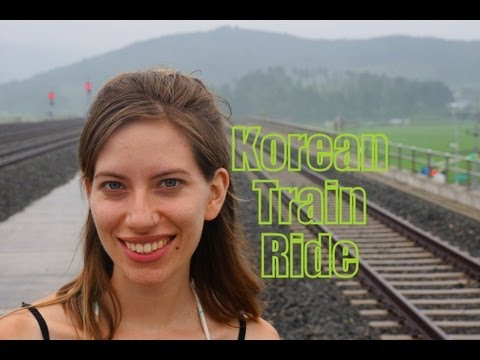 VIDEO: Taking a Train in Korea to Seoul