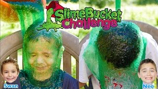 Video SLIME BUCKET CHALLENGE !!! Une Douche de Slime pour Swan & Néo :) MP3, 3GP, MP4, WEBM, AVI, FLV Mei 2017