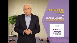 In the third part of the series, Dr. Ashok Mahashur, Consultant Chest Physician at the P.D. Hinduja Hospital in Mumbai explains how diet patterns and lifestyles can impact Bronchial Asthma. Watch the video to know more.