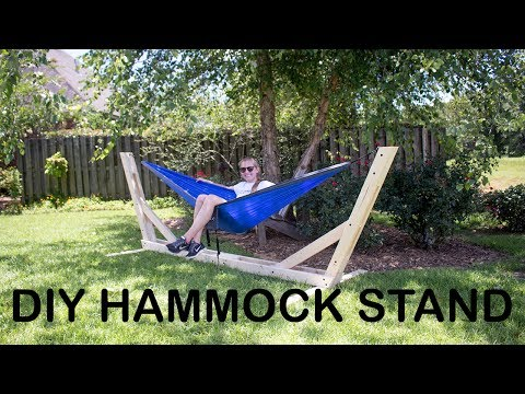 How To Build An Outdoor Hammock Stand | Easy Way $25