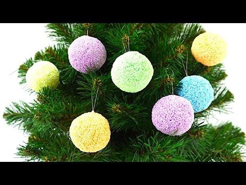 Новогодние сюрпризы из шарикового пластилина. Сюрпризы на елке. Игрушкин ТВ - DomaVideo.Ru