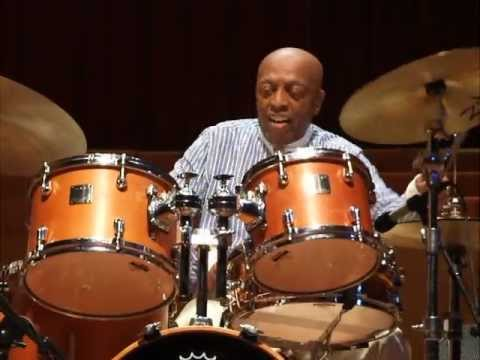 2012 Chicago Jazz Festival: Roy Haynes solo on drumset and tap