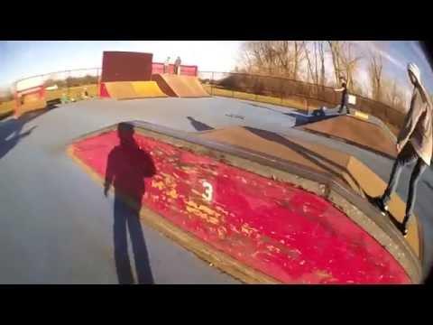 Baldwin Skatepark Montage 2012