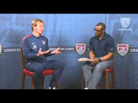 U.S. Soccer Interview with Jurgen Klinsmann: Advice for Youth Coaches