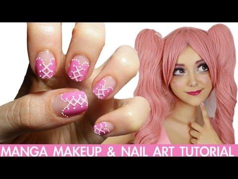 nail art - manga!