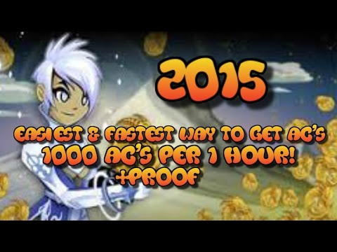 =AQW= FASTEST & EASIEST Way To Get FREE AC's (1000 AC's In 1 Hour!) 2015