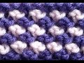 How to Knit Two Color Bee Stitch by ThePatterfamily
