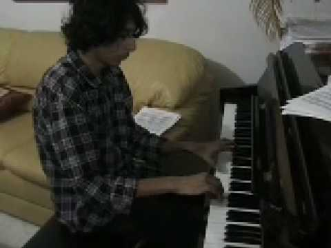 complex world - lovely complex piece a difficult song to play on piano, congratulation Adel :)