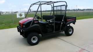 4. Review: 2013 Kawasaki Mule 4010 Trans 4X4 in Super Black and Fire Cracker Red