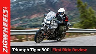 2. Triumph Tiger 800 I First Ride Review I ZigWheels.com