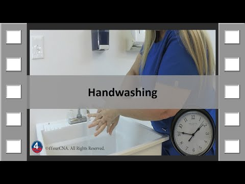 Handwashing Cna Skill New