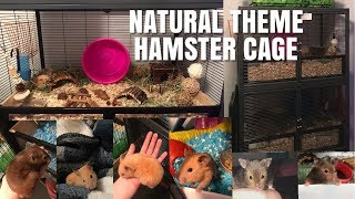 Double, NATURAL THEME Hamster Cages! | Vlogmas (kinda) Day 2 by Emma Lynne Sampson