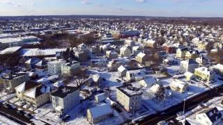 took the drone up for some arial shots of the snow Music: http://www.bensound.com