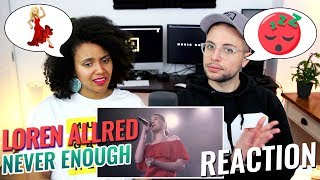 Video Loren Allred - Never Enough (Live Performance) | REACTION MP3, 3GP, MP4, WEBM, AVI, FLV Agustus 2018