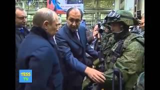 Путину показали солдат будущего! Смотреть всем! Новости мира!