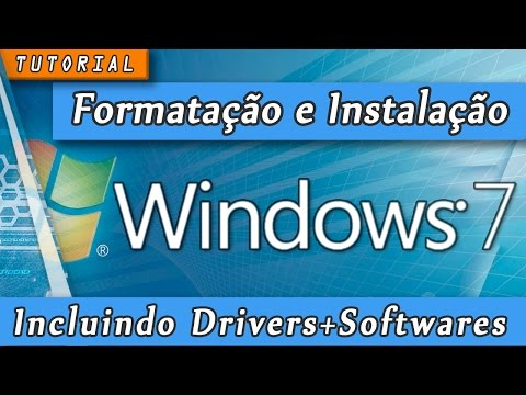 Como formatar e Instalar o Windows 7 corretamente