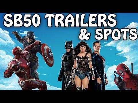 SUPER BOWL 2016 - Commercials, TV Spots, & TRAILER MASHUP - GG Entertainment News 100% Spoiler Free