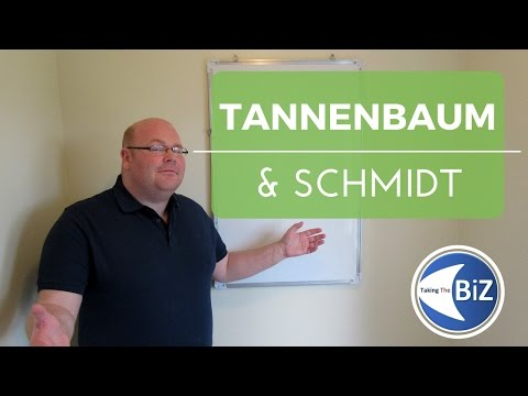 A level Business Revision - Tannenbaum & Schmidt Continuum