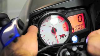 7. how to set SHIFTLIGHT on a 2007 GSXR600