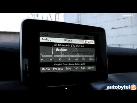 Mercedes-Benz COMAND System Review from CLA250