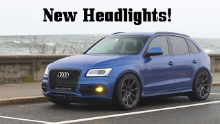 SQ5 Gets OEM E-Code Headlights! (+ BC Forged Wheels Back On) by Ignition Tube