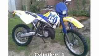 2. 2010 Husqvarna WR 250 Features & Info