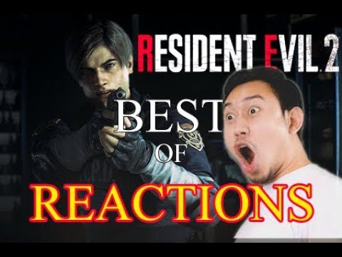 Resident Evil 2 Best Live Reactions Compilation - E3 2018 Reveal Trailer