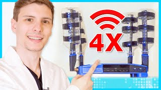 Video Quadruple Your Wi-Fi Speed for Free MP3, 3GP, MP4, WEBM, AVI, FLV Juli 2018