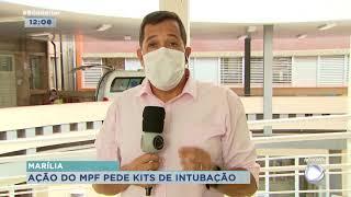 Marília: MPF pede à  justiça fornecimento de  'kit intubação' para hospital