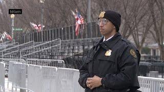 Megaoperativo de seguridad en Washington a pocas horas de la asunción de Trump
