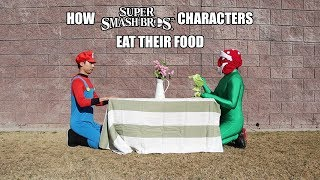 How Super Smash Bros. Characters Eat Their Food - With Lethal Soul