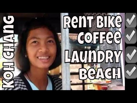Koh Chang Part 3 – How to Rent a Motor Cycle and how to get your Laundry Done!