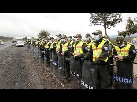 Ισημερινός: Κατάσταση έκτακτης ανάγκης λόγω ηφαιστείου