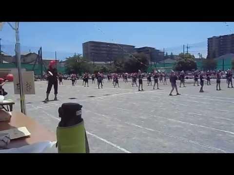 土気南小学校平成27年度の運動会:エイサー踊り