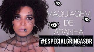 MAQUIAGEM DE HALLOWEEN ARANHA 3D  Paula Ribeiro