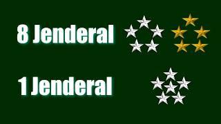 Video Hanya Ada 1 Jenderal Bintang Enam dan 8 jenderal Bintang Lima di dunia MP3, 3GP, MP4, WEBM, AVI, FLV Januari 2019