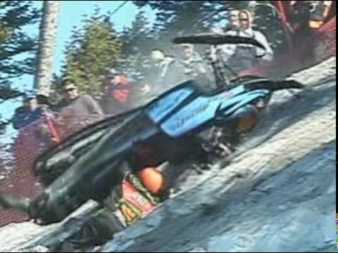jackson hole - Jackson Hole World Championship Hillclimb is the most extreme snowmobile hillclimb race on Earth. Great riding and unbelievable sled carnage in this action p...